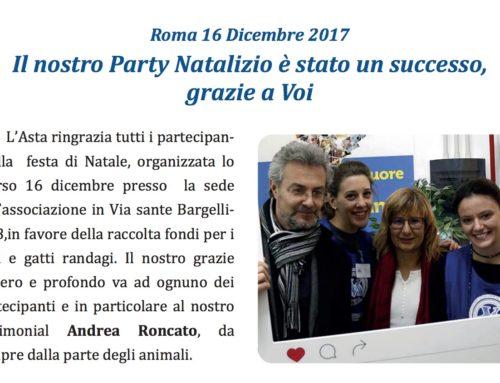 Il nostro Party Natalizio è stato un Successo Grazie a Voi…